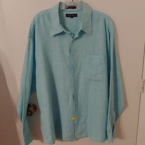 Alan Flusser Men's Linen Shirt
